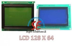 Jual LCD Caharachter 128 x 64 / Display LCD Charachter Harga Murah