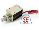 Jual Solenoid Mekatronik Push Pull  / Harga Solenoid Penarik dan Pendorong