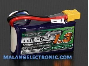 Jual Baterai Lipo 1300Mah 3s 25-40C Nano-Tech | Baterry Lipo Murah