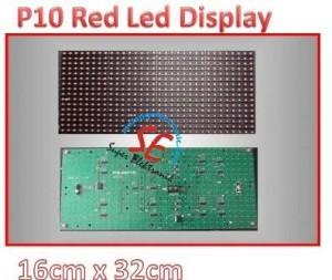 Jual P10 Led Screen Red Color   Harga p10 Led Display Murah