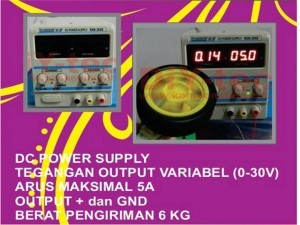Jual Adjustable Power Supply 30V 5A | Power Supply Eksperimen Murah