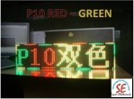 Jual P10 LED Matriks RGB | Module P10 RED Green Harga Murah