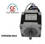 Jual Stepper Motor DC torsi 12.6Kgcm | Harga Motor stepper 57BYGH56-401A