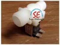 Jual Kran Elektrik Straight 220VAC   Solenoid Valve Plastik Murah