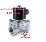Solenoid Valve Stainless Steel 3/4 Inch Murah