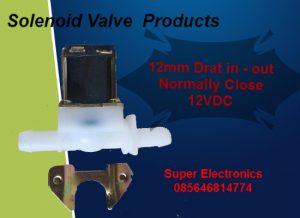 Solenoid Valve Drat 12mm (Kran Elektrik 12mm Murah)