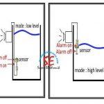 Sensor Ketinggian Air Dilengkapi Alarm (Alarm Pengisian Tandon Otomatis)