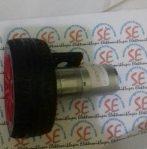 Motor Dc 100Rpm 12v Dilengkapi Roda 65mm (Jual Motor Dc Robot)