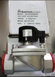 Solenoid valve stainless steel sanlixin otomatis