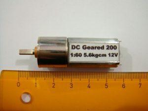 Motor Dc Robot 200Rpm 12V Murah