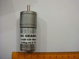 Motor Dc 38Rpm Torsi Besar (Jual Motor Dc Robot)