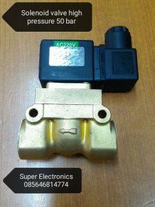 solenoid valve high pressure 50 bar