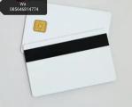 Jual SLE4442 IC Card Dengan Magnetic stripe 12mm Harga Murah