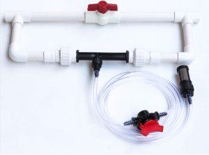 Contoh Gambar  perakitan Venturi Injector