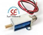Jual Small Push Pull Solenoid | Solenoid Pendorong Tipe Kecil Murah