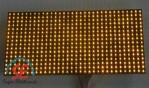 Jual P10 Warna Kuning Semi Out Door | Moving Sign P10 Kuning Harga Murah