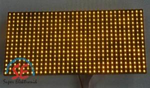 Jual P10 Warna Kuning Semi Out Door   Moving Sign P10 Kuning Harga Murah