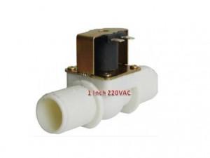 Solenoid Valve 1 Inch Plastik  220VAC | Kran Elektrik 220Vac Sea Murah