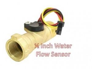 1/2 Inch Water Flow Sensor Bahan Brass Kuningan   Sensor Debit Air
