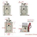 Solenoid Pengunci Pintu 12V (Doorlock LY-01 Otomatis)